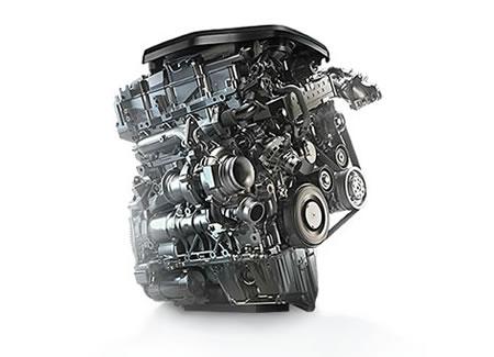 BMWの320dに積まれるディーゼルエンジン