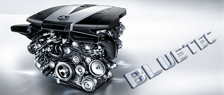 メルセデスのBlueTECと呼ばれるディーゼルエンジン