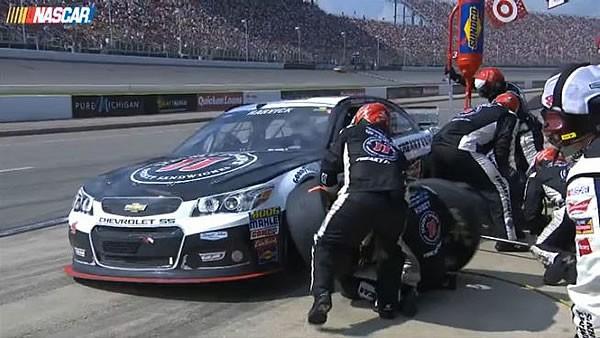 NASCARのピットワーク
