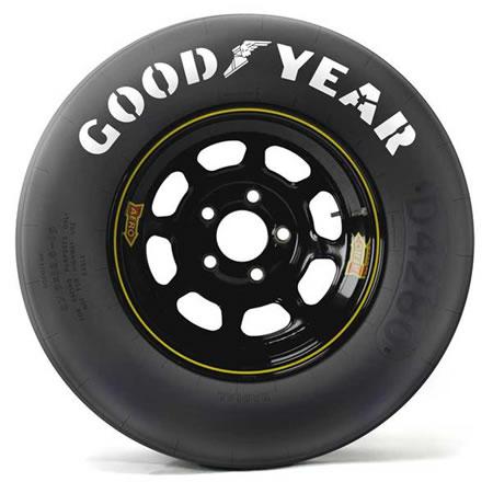 NASCARのタイヤホイール