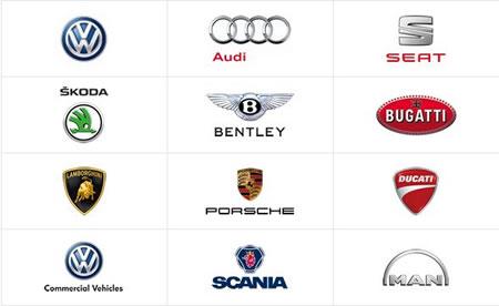 VWグループのブランド