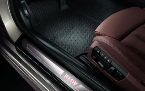 BMW6シリーズのゴムのフロアマット