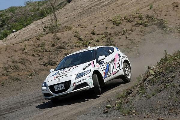 2015全日本ダートトライアル選手権第5戦PNクラス優勝の児島選手のCR-Z