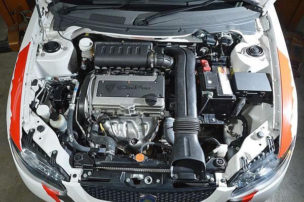 「サトリア ネオ」のエンジン画像