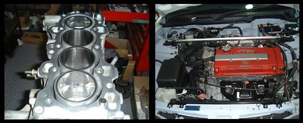 ファインアートのDC2エンジン作業