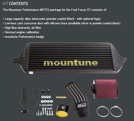 フォーカス用「mountune MP275」キット