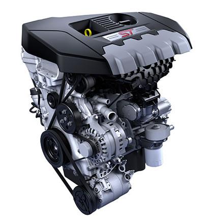 フォーカスSTディーゼルのエンジン