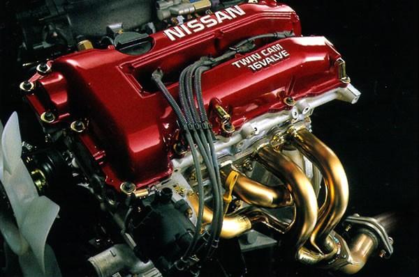 S15シルビア オーテックバージョンのSR20DEエンジン画像