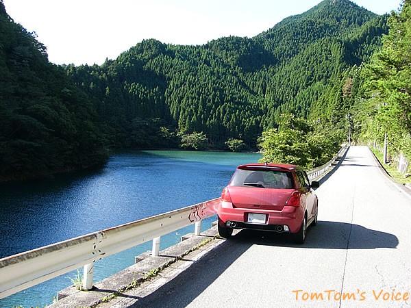 スイフトスポーツ兵庫県銀山湖