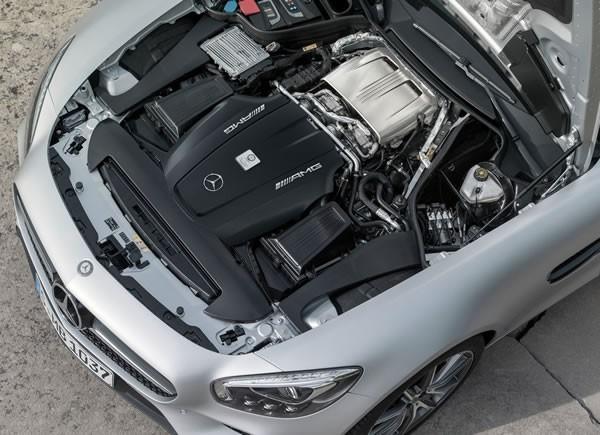 「AMG GT」のエンジン画像