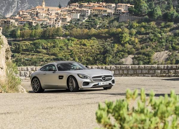 「AMG GT」のフロント画像その2