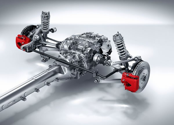 「AMG GT」のパワートレイン画像その2