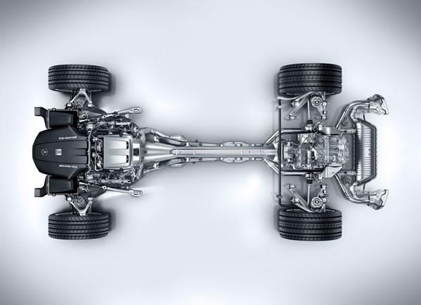 「AMG GT」のパワートレイン画像