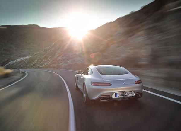 「AMG GT」のリア画像その2
