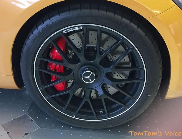 メルセデス「AMG GT」のフロントホイールアップ画像
