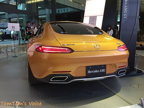 メルセデス「AMG GT」のリア画像