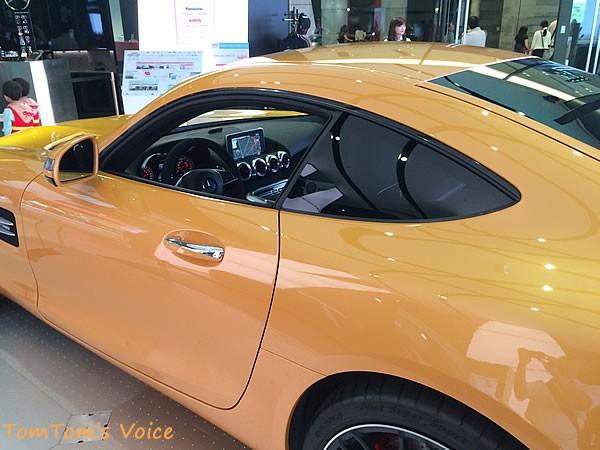 メルセデス「AMG GT」のコックピットあたりの画像