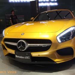 メルセデス「AMG GT」発売直前その2、実車を見てきた