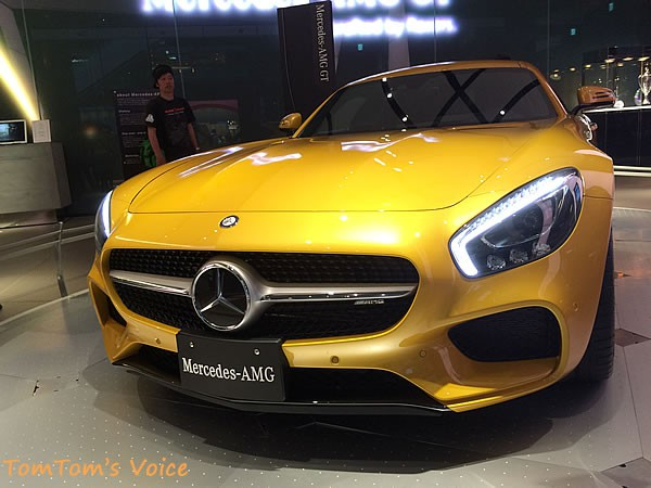 「AMG GT」フロント画像