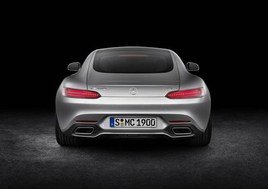 「AMG GT」のリア画像