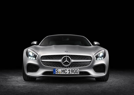 「AMG GT」のフロント画像