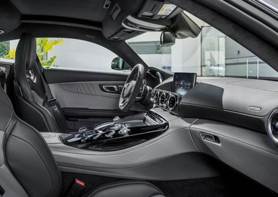 「AMG GT」の室内画像