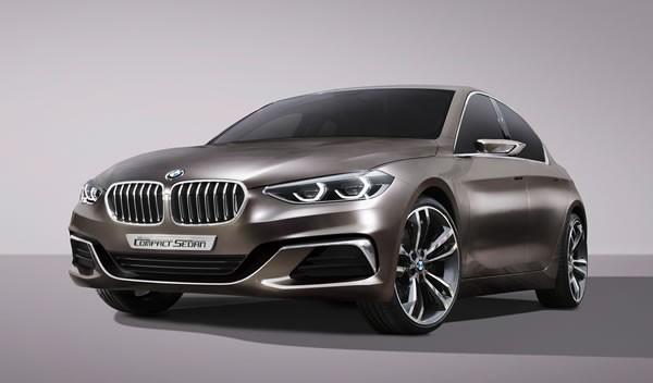 BMW「Concept Compact Sedan」のフロント画像