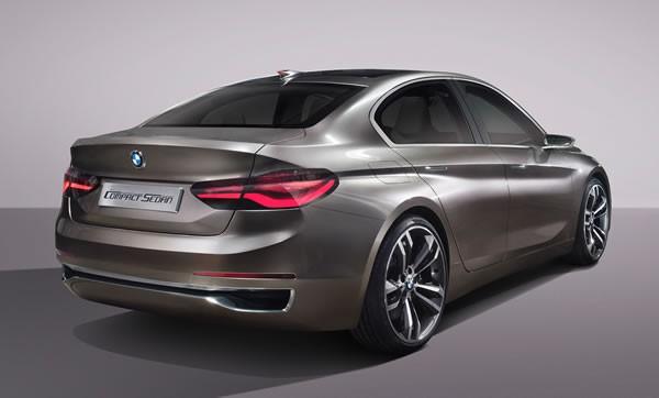 BMW「Concept Compact Sedan」のリア画像