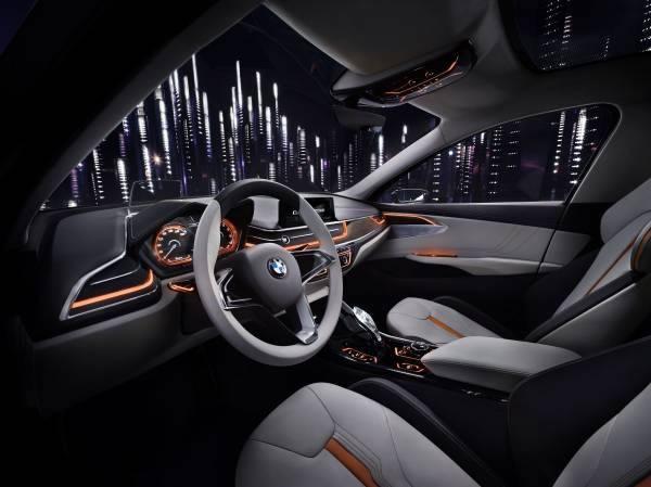 BMW「Concept Compact Sedan」のシート画像