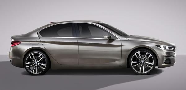 BMW「Concept Compact Sedan」のサイド画像