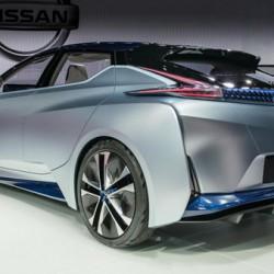 日産「IDS Concept」次期リーフのデザインは個性的で良いかも 東京モーターショー2015から
