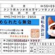 一世を風靡したナメ猫の運転免許証