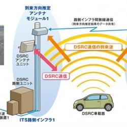 沖電気のITS利用位置情報システム 歩行者もDSRC端末を持って歩かないといけなくなる?