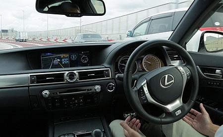 トヨタの自動運転実験