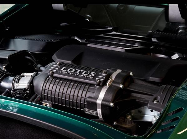 「Exige Sport 350」エンジン画像