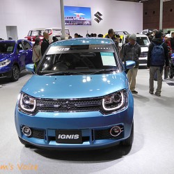 スズキ「イグニス」は今にも市販できそうな感じ 大阪モーターショー2015にて