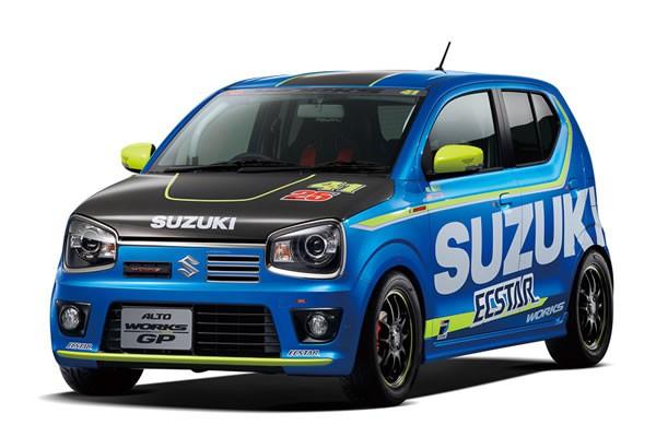 スズキの東京オートサロン2016のアルトワークスGP