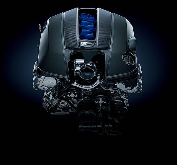 レクサスGS-Fの2UR-GSEエンジン