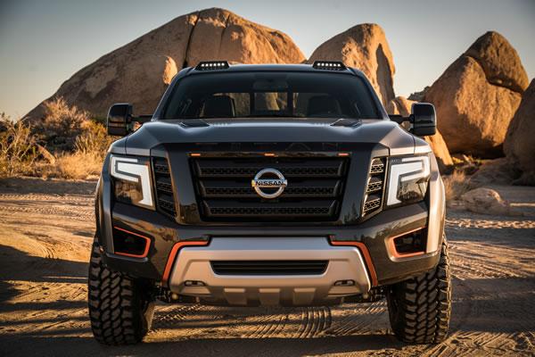 日産「TITAN Warrior Concept」のフロント画像