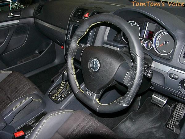 VW ゴルフ5プレリのペダルの様子