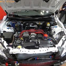 写真で見るGRMN86本物のニュル仕様車 大阪オートメッセ2016
