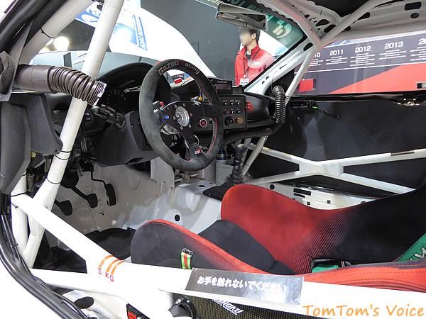 大阪オートメッセ2016でのトヨタGRMN86ニュル仕様車のインパネ画像