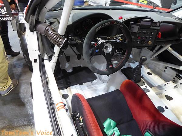 大阪オートメッセ2016でのトヨタGRMN86ニュル仕様車のペダル画像