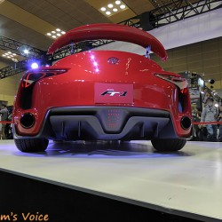 トヨタFT-1は完成間近なのか外装は変わらず中身は全く情報無し 大阪オートメッセ2016