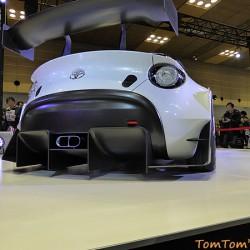 トヨタ「S-FR Racing Concept」はおもちゃ感覚で楽しい 大阪オートメッセ2016