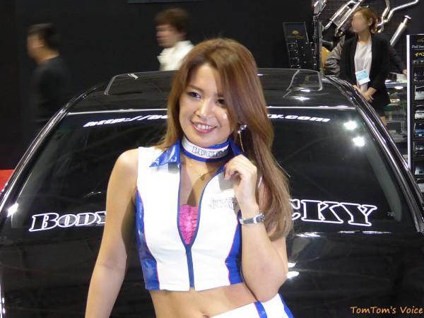 大阪オートメッセ2016キャンギャル10