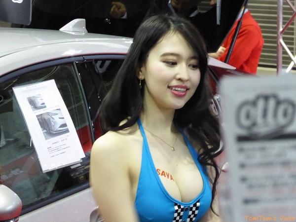 大阪オートメッセ2016キャンギャル15