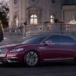 新型「Lincoln Continental」のフロント画像