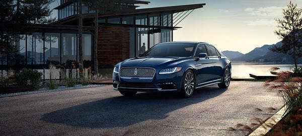 新型「Lincoln Continental」のフロント画像その2