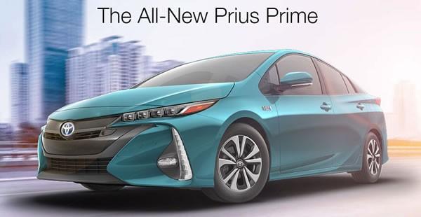 北米仕様の「Prius Prime」